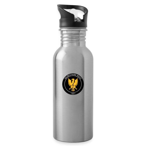 Holmestrand brass - Drikkeflaske med integrert sugerør