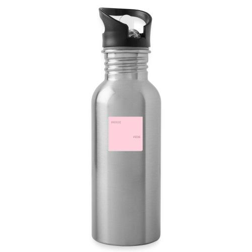 Common Sense bogo - Vattenflaska med integrerat sugrör