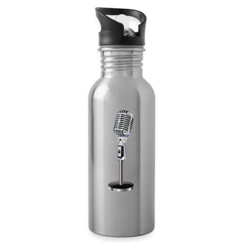 En mikrofon Flaske - Drikkeflaske med integrert sugerør