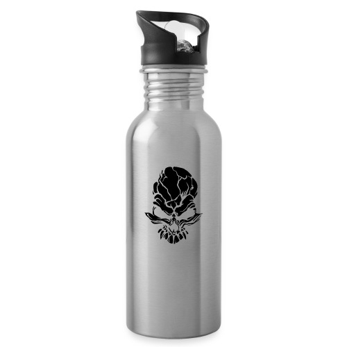F noize fronte png - Water bottle with straw