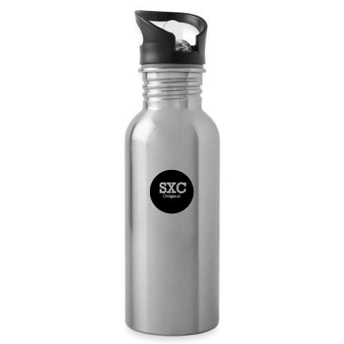 Plain SXC Original - Water bottle with straw