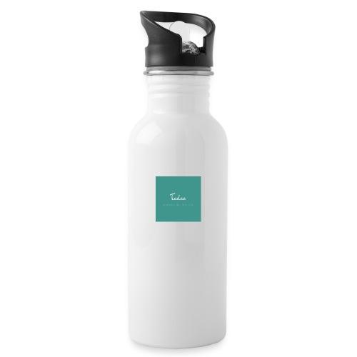Tadaa - Trinkflasche mit integriertem Trinkhalm