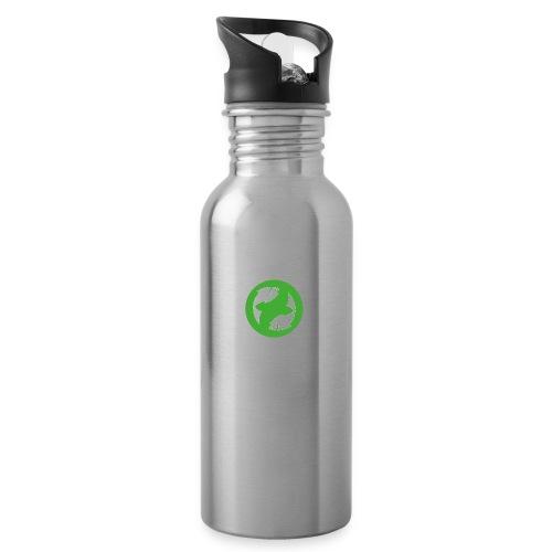 logo-simple - Gourde avec paille intégrée