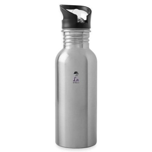 LA Maravilla - Drikkeflaske med integreret sugerør
