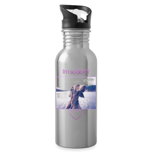 I'm So Sexy: Phone Case - Water bottle with straw
