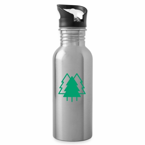 Classic collection - Water bottle with straw