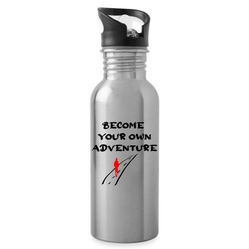 Road2 - Drikkeflaske med integreret sugerør