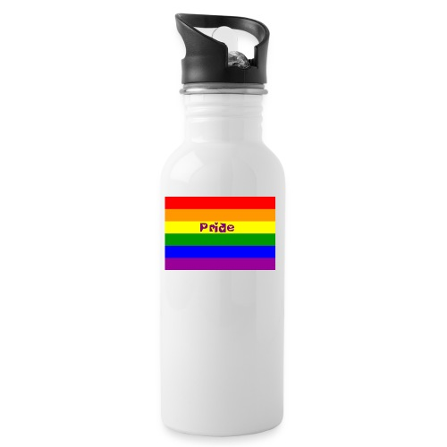 pride accessories - Water bottle with straw