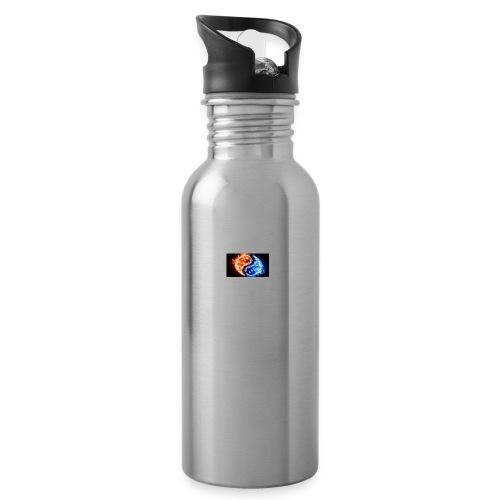 Zen - Vattenflaska med integrerat sugrör