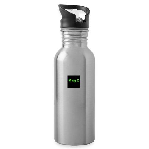 mogc - Drikkeflaske med integreret sugerør