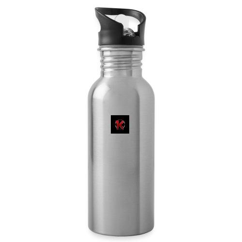 Logo - Drikkeflaske med integreret sugerør