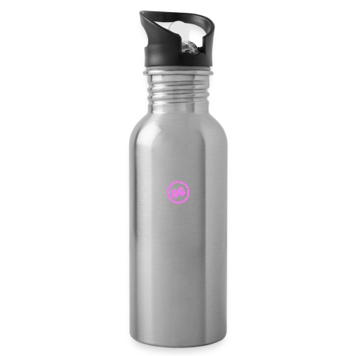 GirlyGamer - Water bottle with straw