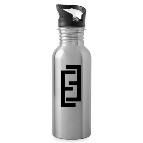 MY LOGO - Water bottle with straw