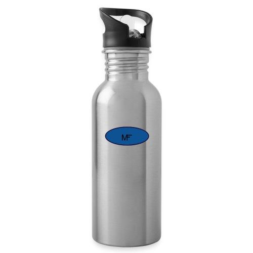 Merchify - Vattenflaska med integrerat sugrör