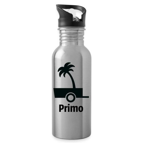 Primo Groot - Drinkfles met geïntegreerd rietje