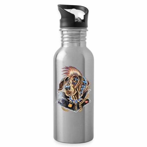 Nemo Braco - Botella cantimplora con pajita integrada