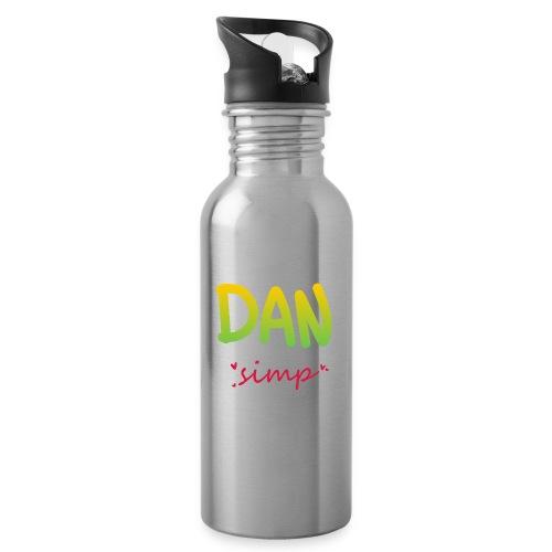 We all simp for Dan - Drikkeflaske med integreret sugerør