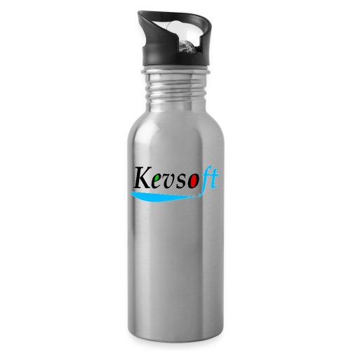 Kevsoft - Water bottle with straw