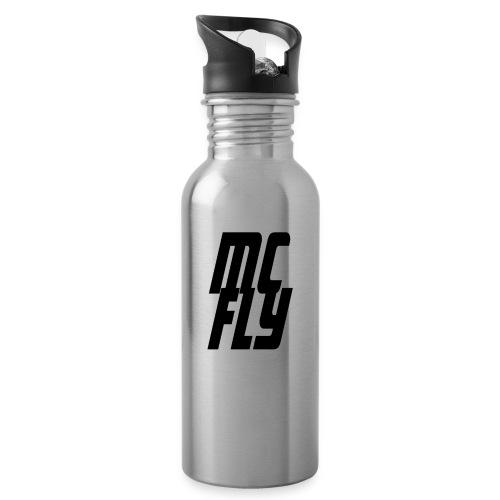 MC FLY - Trinkflasche mit integriertem Trinkhalm