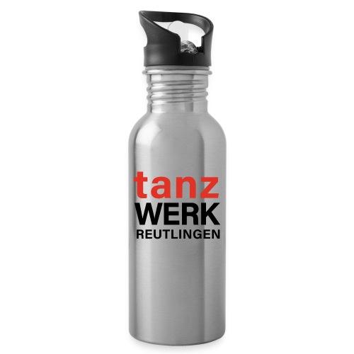 Tanzwerk - Special Edition - schwarz - Trinkflasche mit integriertem Trinkhalm