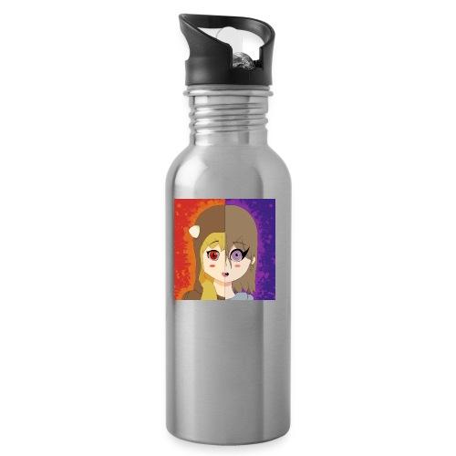When we were kids... - Water bottle with straw