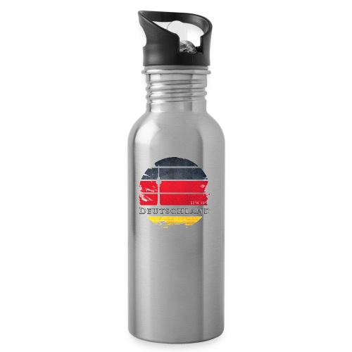 DEUTSCHLAND 2 - Water bottle with straw