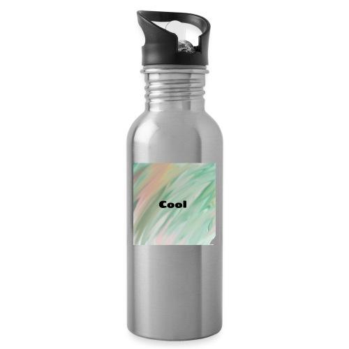 Cool - Trinkflasche mit integriertem Trinkhalm