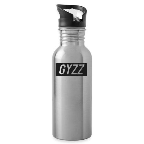 Gyzz - Drikkeflaske med integreret sugerør