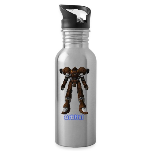 Suit04 - Water bottle with straw