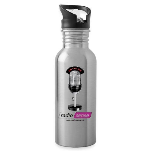 RADIO-SENSE: On the Air - Trinkflasche mit integriertem Trinkhalm
