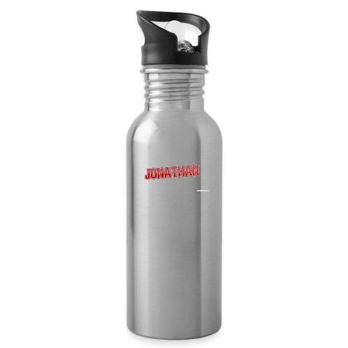 Jonathan - Vattenflaska med integrerat sugrör