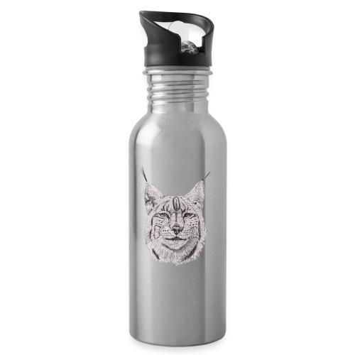 lynx - Drikkeflaske med integreret sugerør