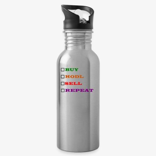 BHSR 1 - Water bottle with straw
