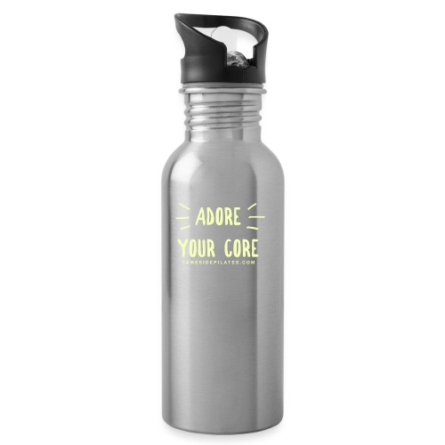 Adore Your Core - Water bottle with straw