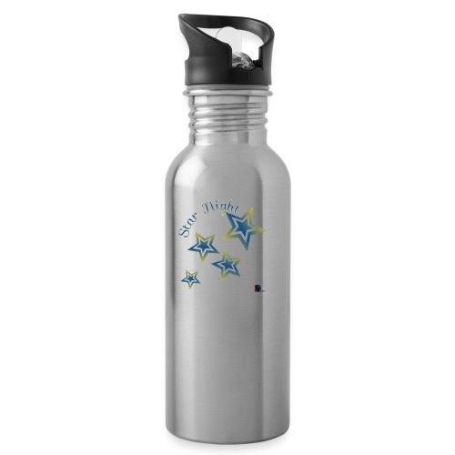 Star - Botella cantimplora con pajita integrada