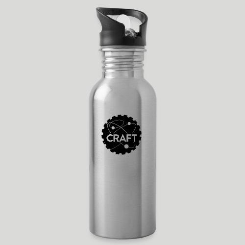Feeling BADASS Today! - Drikkeflaske med integreret sugerør
