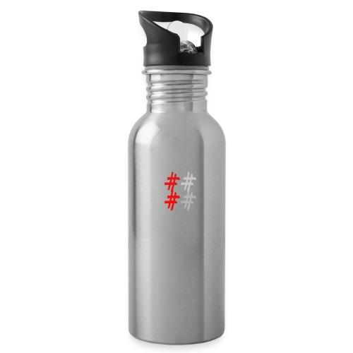 Ropa y acesorios droks g - Botella cantimplora con pajita integrada