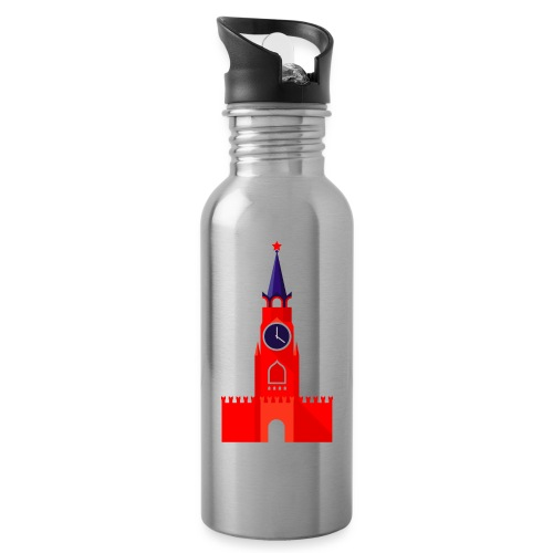 Kremlin by Julia Dudnik - Water bottle with straw