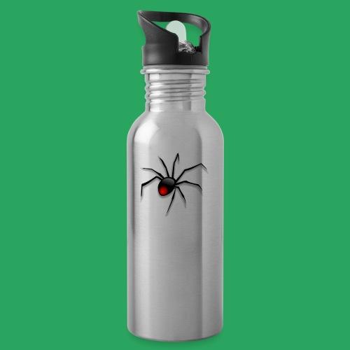 spider logo fantasy - Borraccia con cannuccia integrata