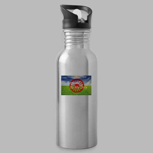 flagromaniinmydna - Vattenflaska med integrerat sugrör