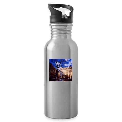 Budapest - Trinkflasche mit integriertem Trinkhalm