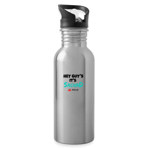 SHIRTBLACK - Water bottle with straw