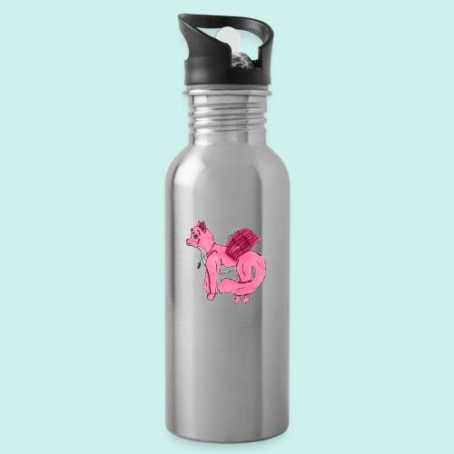 pink_cat - Juomapullo, jossa pilli