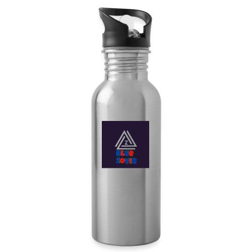 BlueZovinshirt - Water bottle with straw