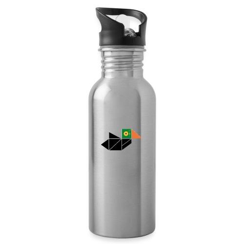 Jean Yann - Water bottle with straw