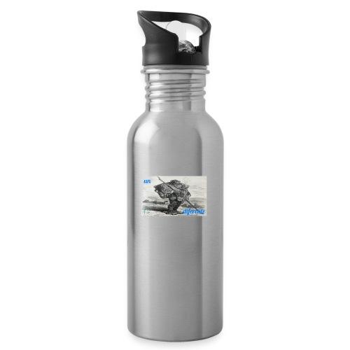 el caminante - Botella cantimplora con pajita integrada