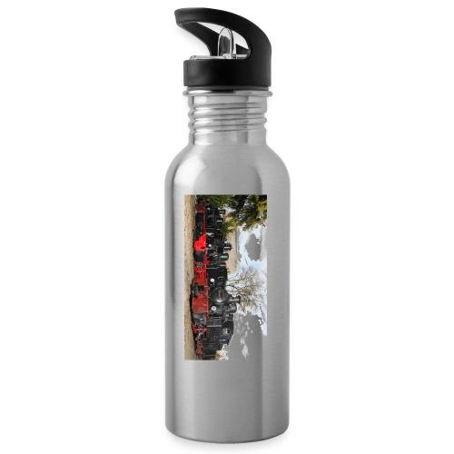 Dampfloks HF110C - Trinkflasche mit integriertem Trinkhalm