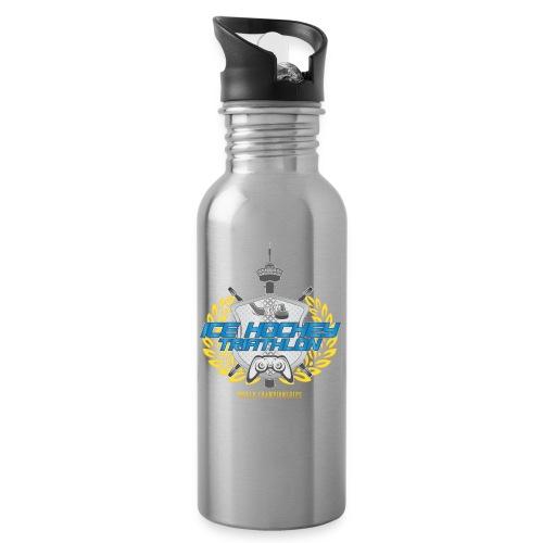 Ice Hockey Triathlon™ - Juomapullo, jossa pilli