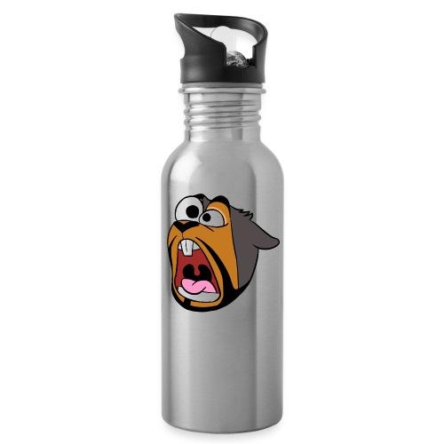 Stan Scream - Water bottle with straw