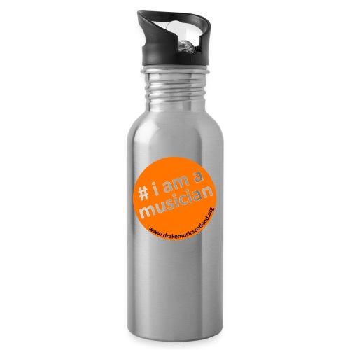 #iamamusician - Water bottle with straw